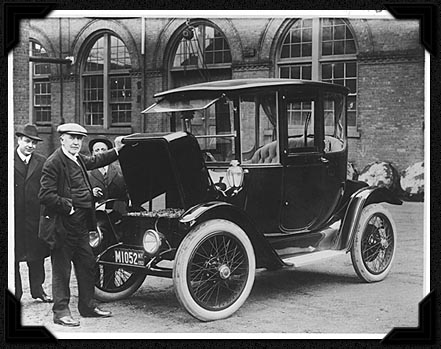 Edison with a prerelease version of the Tesla.