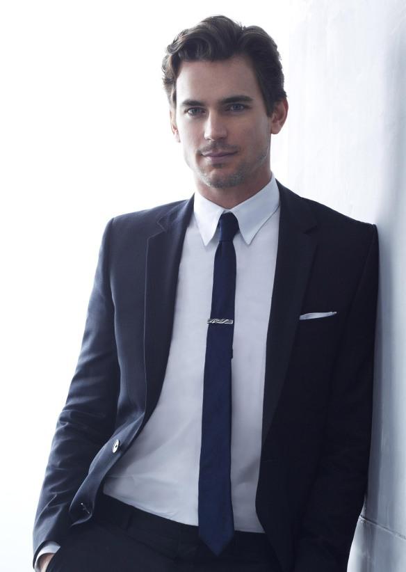 What I try to look like. Matt Bomer - Neal Caffrey, White Collar. (c) USA Network